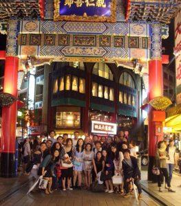 会終了後、チャイナタウンで集合写真