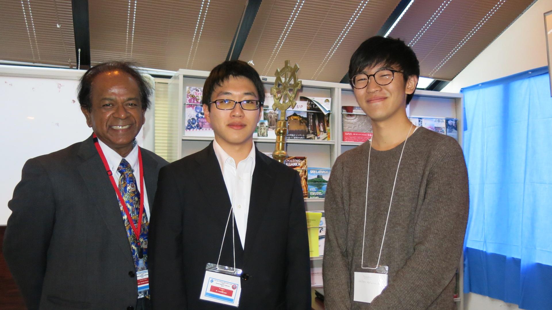 在日スリランカ人留学生協会で、スリランカ超短期派遣プログラム参加メンバーが発表しました