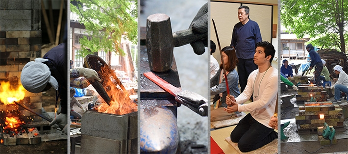 Tatara Steelmaking Workshop offers insights to Japanese culture