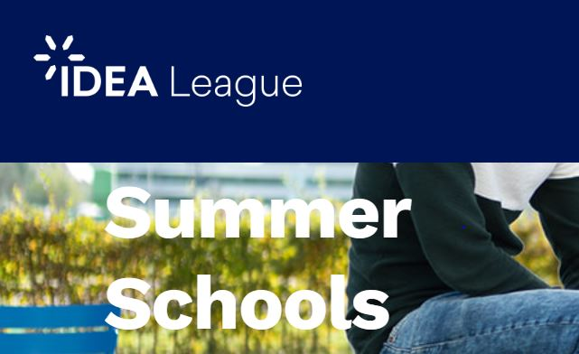 [Deadline Extended: Friday, July 17] IDEA League Summer Schools (Online Courses)