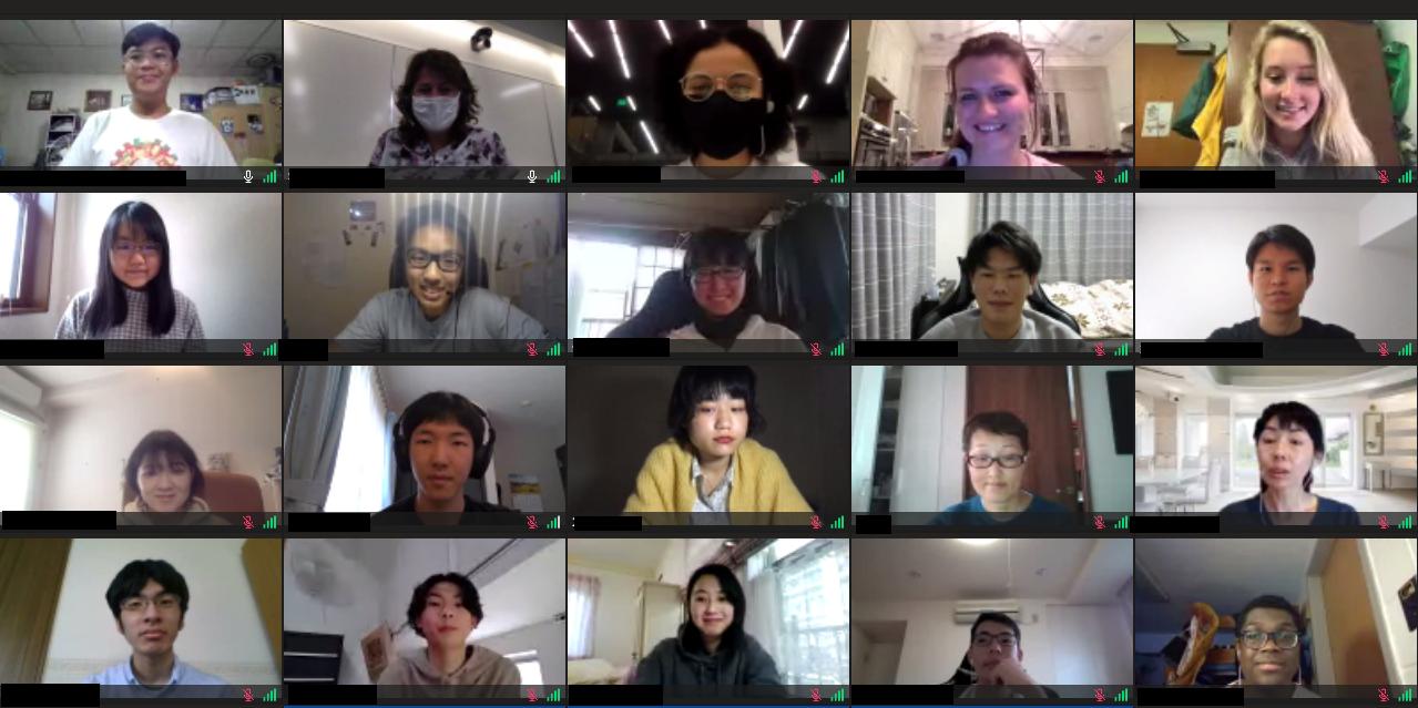グローバル理工人研修(オンライン) 2021 Spring